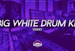 Big White Drum Kit (Drumkit)