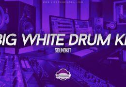 Big White Drum Kit (Drumkit)