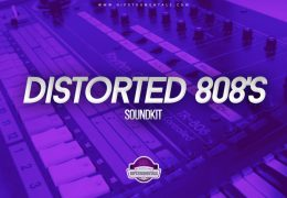 Hipstrumentals – Distorted 808's (Drumkit)