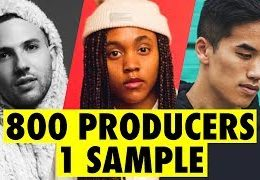 Video: 800 PRODUCERS FLIP THE SAME SAMPLE