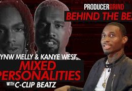 """Video: The Making of YNW Melly & Kanye West """"Mixed Personalities"""" by C-Clip Beatz"""