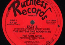 Eazy-E – Boyz N The Hood (Instrumental) (Prod. By Dr. Dre) | Throwback