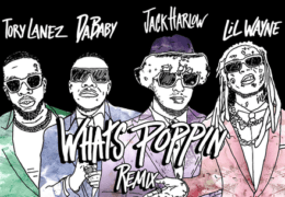 Jack Harlow – What's Poppin (Instrumental) (Prod. By LosTheProducer, JW Lucas, jetsonmade & Pooh Beatz)