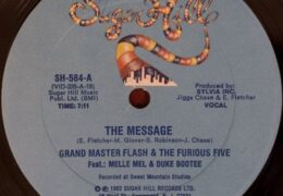 Grandmaster Flash & The Furious Five – The Message (Instrumental) (Prod. By Jigsaw Productions & Sylvia Robinson)