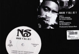 Nas – Where Y'all At (Instrumental) (Prod. By Salaam Remi)